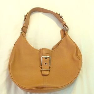 Like new Coach leather hobo